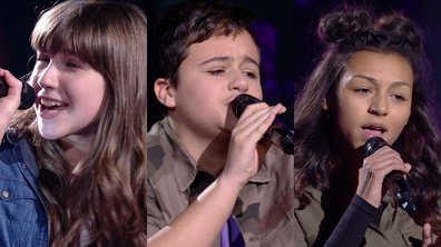 Leticia VS Mathias VS Océane chantent « Wrecking Ball » de Miley Cyrus (Team Amel Bent)
