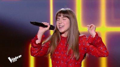 """The Voice Kids 6 - Laeticia, la québécoise """"showgirl"""" enflamme le plateau (REPLAY)"""