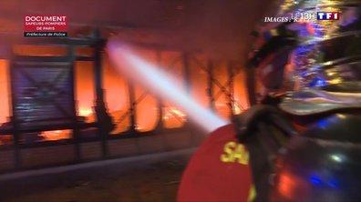 Levallois-Perret : un incendie ravage le marché