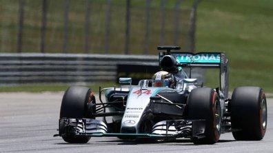 F1 - GP Chine 2015: Hamilton en pole position, Rosberg juste derrière