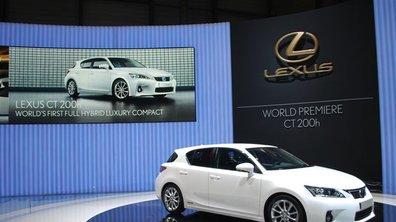 Salon de Genève 2010 : Lexus CT 200h