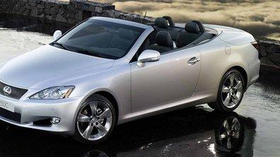 Lexus IS 250C : Plus d'infos