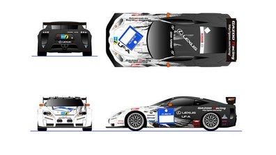 Lexus LFA : le proto revient aux 24 heures du Nurburgring