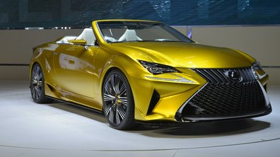 Lexus LF-C2 Concept 2014 : avant-goût extravagant du futur RC Cabriolet