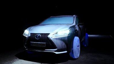 Lexus dévoile une NX chaussée de pneus en glace