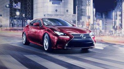 Lexus RC 2014 : le coupé IS dévoilé avant le Salon de Tokyo