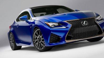 Lexus RC F 2014 : le coupé japonais s'offre 450 chevaux pour Detroit