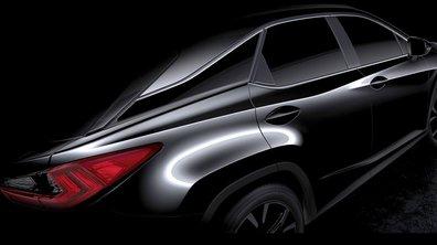 Lexus RX 2015 : Premières images du futur SUV
