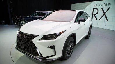 Salon de New York 2015 : Lexus RX puissance 4