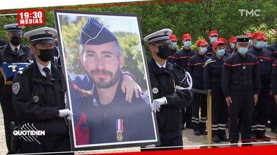 L'hommage à Éric Masson, policier tué à Avignon