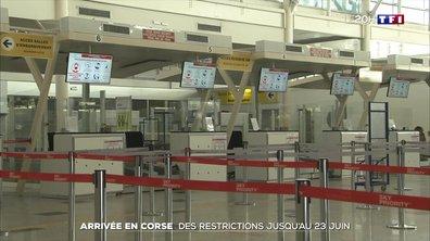 Liaison avec la Corse : des restrictions jusqu'au 23 juin