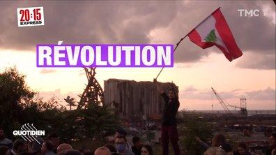 """Liban : """"C'est un régime qui nous a tué dans nos quartiers, nos maisons"""""""