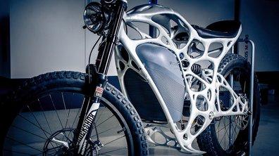 Airbus lance la Light Rider, une moto électrique conçue par… une imprimante 3D