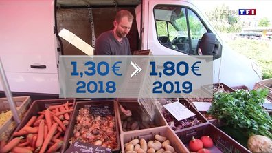 Lille : hausse du prix de la pomme de terre