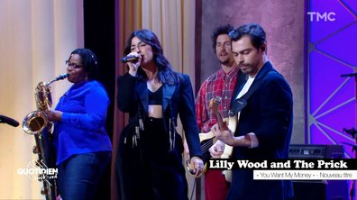 "Lilly Wood and the Prick: ""You want my money"" en live pour Quotidien"