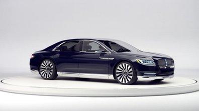Lincoln Continental Concept 2015 : présentation officielle