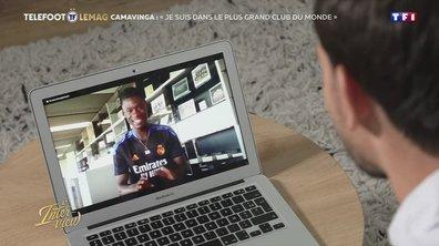 """L'interview - Camavinga : """"Je suis dans le plus grand club du monde"""""""