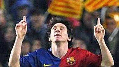 Un défi pour Messi