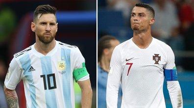 Jour fatal pour Lionel Messi et Cristiano Ronaldo, muets et éliminés