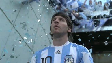 Ecoutez la chanson offerte à Messi en Argentine