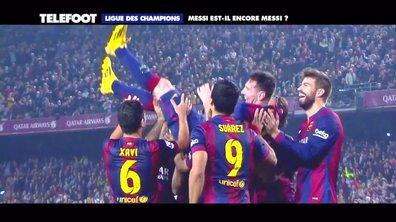 Ligue des champions : Messi est-il toujours Messi ?