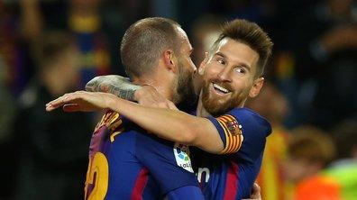 VIDEOS - Le quadruplé de Messi avec le Barça, le Bayern détruit Schalke, le missile de Slimani face à Liverpool : les meilleurs moments de la soirée européenne de mardi