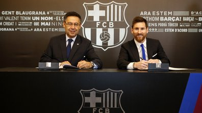 FC Barcelone : Lionel Messi a prolongé !