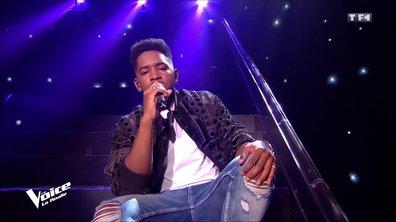 """Lisandro : """"Danser"""" en live sur la scène de """"The Voice"""""""