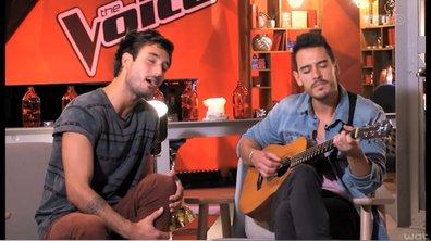 The Voice 3 - Igit, Charlie, Amir, Fréro Delavega : Les beaux gosses remercient leurs fans