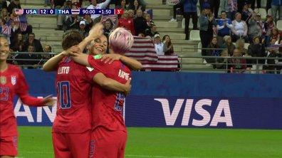 USA - Thaïlande (13-0) : Voir le but de Lloyd en vidéo