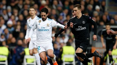 Real - PSG : Lo Celso a souffert