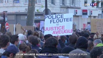 Loi de sécurité globale : les manifestations font le plein
