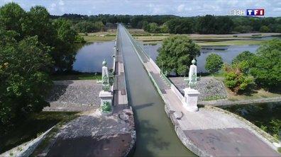 Loiret : le canal de Briare fermé à la navigation