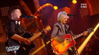 Loïs Silvin & Louis Bertignac - Angie  (The Rolling Stones) (saison 02)