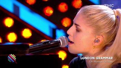 """London Grammar - """"Oh Woman, Oh Man"""" en live sur la scène de Quotidien"""
