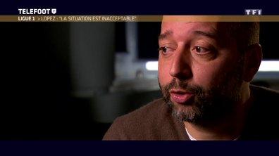 """[EXCLU Téléfoot 29/10] - LOSC / Gerard Lopez évoque Ben Arfa : """"Ce n'est pas du tout à l'ordre du jour pour le moment"""""""