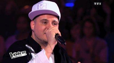 The Voice: Lord Bitum éliminé contre Sophie Tapie sur un tube de Rihanna et d'Eminem