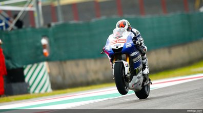 MotoGP - Warm-up GP d'Italie : Lorenzo se replace avant la course