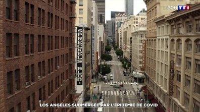 Los Angeles submergée par l'épidémie de covid