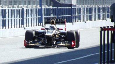 F1 : Räikkönen en tête aux essais de Jerez 2012