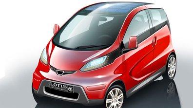 Lotus se lance dans la voiture propre avec l'Electric City Car