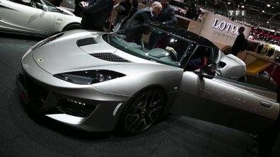 Evora 400, la plus puissante des Lotus au Salon de Genève 2015