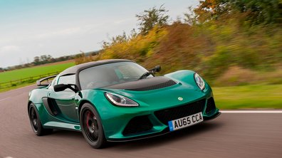 Lotus Exige Sport 350 2016 : plus légère et plus rapide