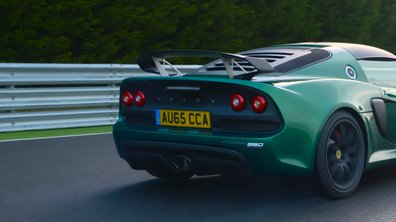 Lotus Exige Sport 350 dévoile sa vitesse