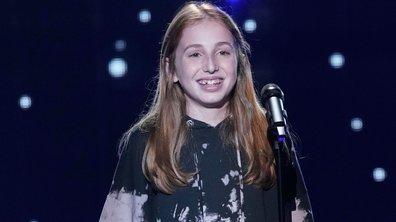 """The Voice Kids 2020 - Lou chante """"Fils de"""" de Jacques Brel"""