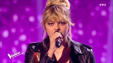 """Louane : """"Si t'étais là"""" en live sur la scène de """"The Voice"""""""