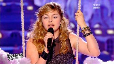 The Voice: Louane, choisie par le public dans la team de Louis Bertignac