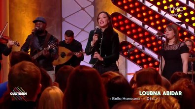 Loubna Abidar : « Bella Hanouna » en live dans Quotidien