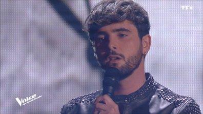 """The Voice All Stars – Louis Delort chante """"La bombe humaine"""" de Téléphone (Demi-finale)"""