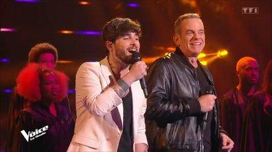 """The Voice All Stars – Louis Delort et Garou, en duo, chantent """"Belle"""" de Notre Dame de Paris (Finale)"""